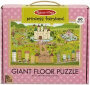 Fairy And Princess World Floor Puzzle - Melissa And Doug