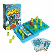 Hoppers Think Fun Binary Arts Puzzle Solitaire Game With Red Frog New Rare