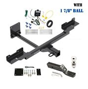 Trailer Hitch Package W 1 7/8 Ball For 16-19 Mercedes-benz Gle350 12-20 Ml350