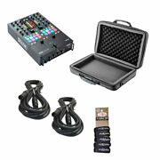 Rane Seventy Two Mkii Bundle Package W/eva Case, Cables And Wraps