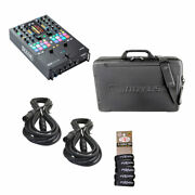 Rane Seventy Two Mkii Bundle Package W/eva Tour Case, Cables And Wraps