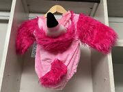 Nwt Sold Out 2020 Pottery Barn Pink Kids Baby Infant Flamingo Costume 12-24 M