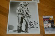 Roy Rogers And Dale Evans Autographed Vintage B/w 8x10 Photo W/ James Spence Coa
