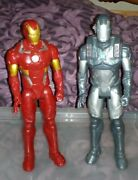 Marvel Avengers Large 12 Action Figures - Iron Man And War Machine