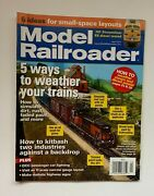 Model Railroader Magazine April 2011 5 Ways To Weather Your Trains