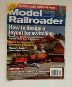 Model Railroader Magazine May 2011 How To Design A Layout For Switching