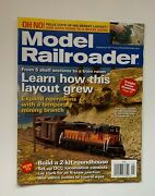 Model Railroader Magazine September 2011 Learn How This Layout Grew