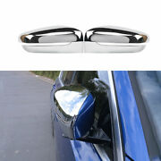 For Bmw 3-series G20 2019-2021 Chrome Outside Rearview Mirror Frame Trim 2pcs