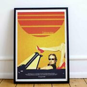 Californication Poster - David Duchovny Wall Art / And03990s Aesthetic - Tv Series