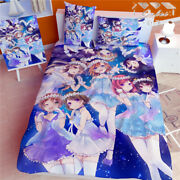 59x78 Anime Lovelive Quilt Cover Blanket Bed Sheet Bedding Gift Cosplay