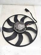 2011-2013 Bmw X5 E70 4.4l Radiator Electric Cooling Fan Motor Blade Only Oem