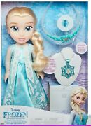 Gorgeous Limited Edition Disney Frozen Elsa Doll Accessory Set Gift For Princess