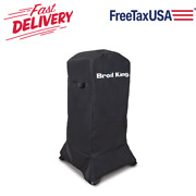 18.5 Bbq Grill Cover Small For Broil King Propane And Charcoal Cabinet Smokers