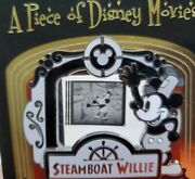 Disney Steamboat Willie Podm Piece Of Disney Movie Mickey Le 2000 Pin