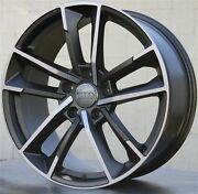 20x9 Rs7 Style Wheels Rims Fit Audi A5 A7 A8 S5 S7 S8 Rs5 Rs7 Q5 Tire Package