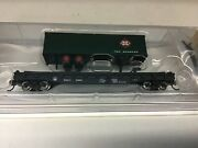 """Bachmann 16752 N Scale """"bando Tofc With Rea Trailer Rd.8966"""