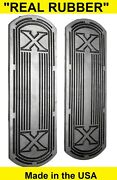 1925-1931 Excelsior Super X Motorcycle Footboard Real Rubber Mat Set - Repro