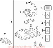 Genuine Oem Overhead Console For Toyota 8126035211b0