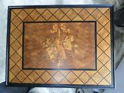 Gillows Andco Musical Marquetry Writing/occasional Table