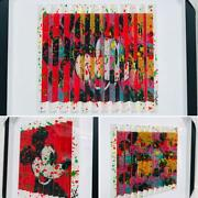 E.m. Zax- One-of-a-kind 3d Polymorph Mixed Media On Paper Mickey