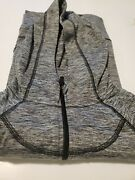 90 Degree By Reflex Youth Girls Hoodie Jacket Sizes 12 Large Charcoal Combo Sd