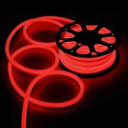 150ft Red 110v Led Neon Rope Lights For Xmas Party Valentine Outdoor Decor
