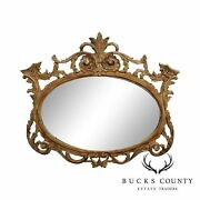 Decorative Crafts Greenwich Collection French Louis Xv Style Carved Wall Mirror