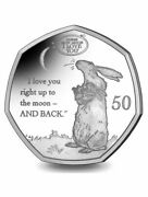 New 50 Pence 2021 Gibraltar Guess How Much I Love You 2 Uncoloured Pre Order