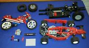 Vtg Lego Technic Lot Formula 1 Car Motorcycle Parts Lot Shipping Included