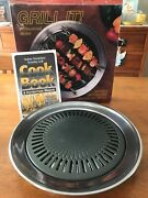 Grill It Indoor Smokeless Stovetop Grill Professional Model Preowned