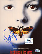 Jodie Foster Autograph Signed 8x10 Photo The Silence Of The Lambs Beckett Loa