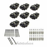 Uf-359 8 Ignition Coil And Sk16r11 Ic518 Spark Plug And Wire Set For Mercedes B3208