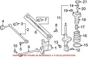Genuine Oem Alignment Camber / Toe Lateral Link For Toyota 487400e050