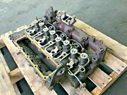 Cummins 4bt Cylinder Head 25393337001 With Exhaust Manifold Injectors Assy Oem