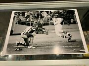 1970and039s Willie Stargell Pittsburgh Pirates Sliding Home 12x18 Photo