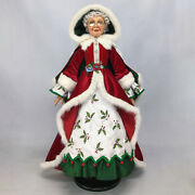 Snow Day Mrs. Santa Doll 32'' Inches In Height - By Katherine's Collection
