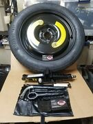 2015 2016 2017 Audi Q3 18 T145/80/r18 Inch Spare Tire With Jack Tools Genuine