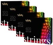 Twinkly Rgb Multicolor App Controlled Smart Decorations Led Light String