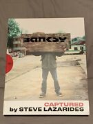 Banksy Captured Book Steve Lazarides 1st Ed 2019 Sold Out 947 Of 5000 In Hand