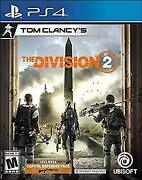 Tom Clancy's The Division 2 Playstation 4 [brand New] Ps4