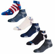 Kentwool Tour Profile Mens Golf Socks Classic Ankle Sock - Pick Color And Size
