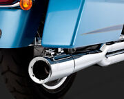 Vance And Hines Pro Pipe Exhaust 2 Into 1 System Chrome Harley Tri Glide 2010-2016