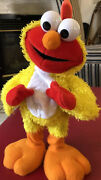 Sesame Street Chicken Dance Elmo By Fisher Price 2002 Works Sings And Flaps Euc