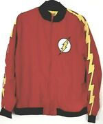 Dc Comics The Flash Professor Zoom Reversible Track Jacket - New And Very Rare