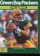 Brett Favre Vintage Signed Autographed Packers Yearbook Magazine Beckett