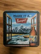100 Coors Make It A Banquet Beer Coasters Bottle Brand New Sealed Nip
