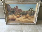 Don Miles Joshua Tree National Monument Oil Painting