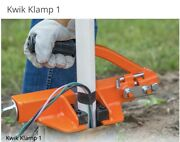 """Kwik Klamp 1 Holds 1"""" -2"""" Pvc And Galvanized Pipes. Well Pipe."""