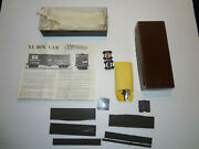 Ho Boxcar Xl Unbuilt Complete Resin Kit From Westerfield 1204