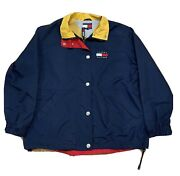 Vintage 90and039s Wind Breaker Size M Euc